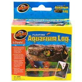Zoo Med Floating Aquarium Log Mini  10,2x8,9x7,6cm