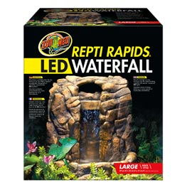 Zoo Med Repti Rapids Led Waterfall Rock Style L G 252 Nstig