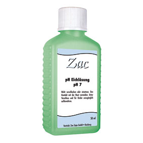 Zac: Kalibrierlösung pH 7,0 50ml