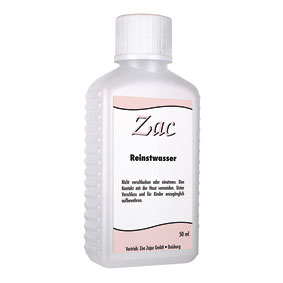 Zac Reinstwasser  50 ml